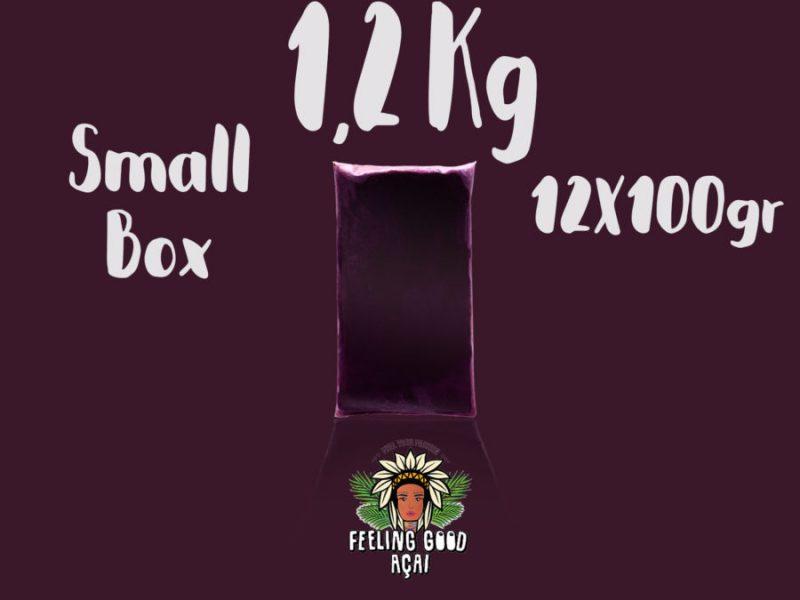 Açaí Podosiri packs box 1,2 kg (12x100g)