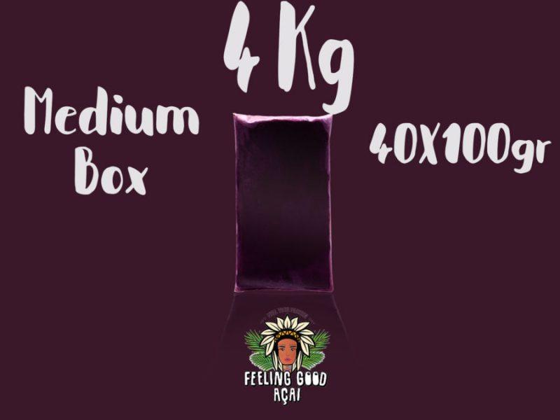Açaí smoothie packs box 4kg (40x100g)