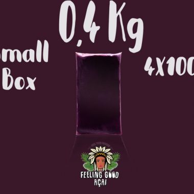 Açaí smoothie packs box 0,4 kg (4X100g)