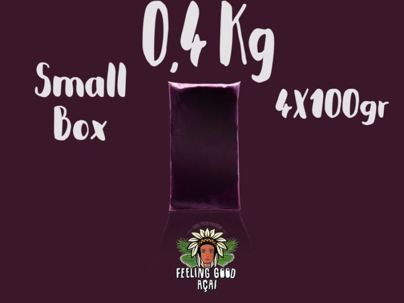 Açaí smoothie packs box 0,4 kg (4X100g)